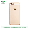 Free sample professional smartphone case factory TPU electroplate for Iphone 6 / 6 plus phone case