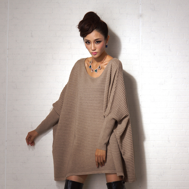 women sweaters pullovers female poncho cloak European American fashion autumn font b winter b font pull