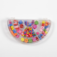 kids DIY wooden beads accessory have different styles educational jewelry diy toy