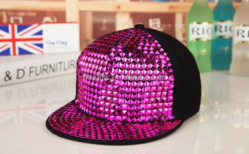 Party Spiked Rivets Hat hiphop Rock Snapback Caps - Buy Simple ... 1ce952a7267