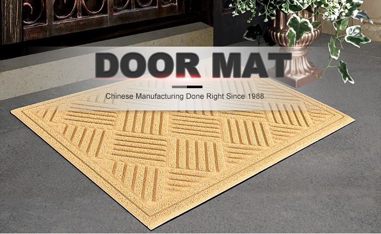 Beautiful Colors and Patterns Door Mat for Floor & Shoe rubber door mat