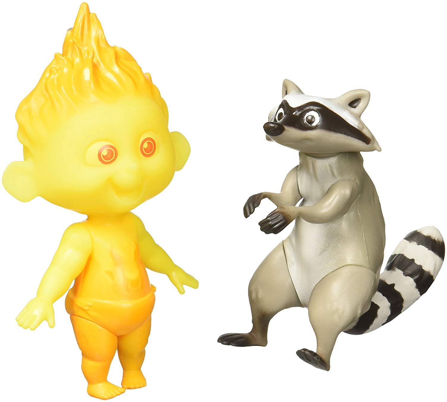 603be891e Get Quotations · The Incredibles 2 Jack-Jack & Raccoon Action Figures 12