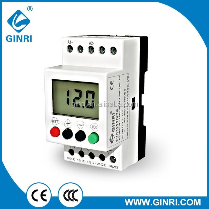 Dc Under Voltage Protection Relay Svr1000 Voltemeter