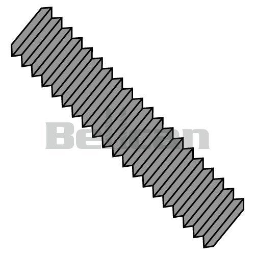 Threaded Stud,B7M,Plain,1//2-13x4,PK150