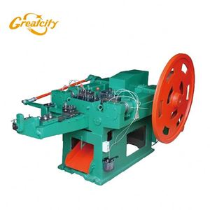 Automatic nut screw making machine for making nail and screw / nail making machine india price