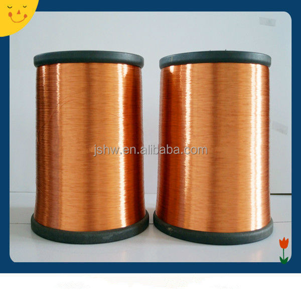 Enameled copper clad aluminum(ECCA) wire insulated film coated 0.18mm