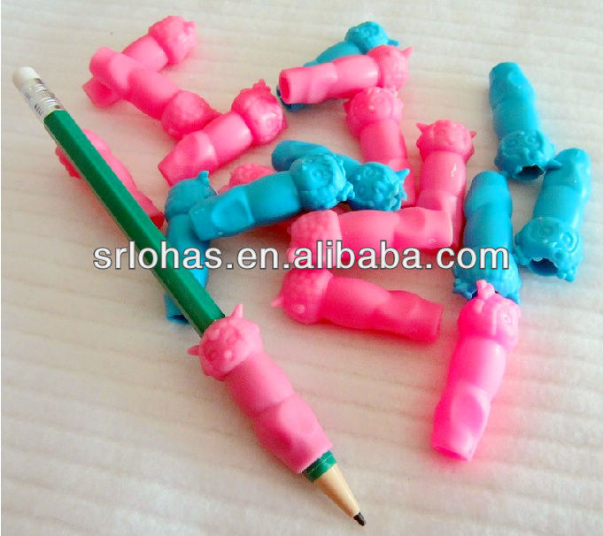 Leuke kids' briefpapier siliconen pen/potlood grips