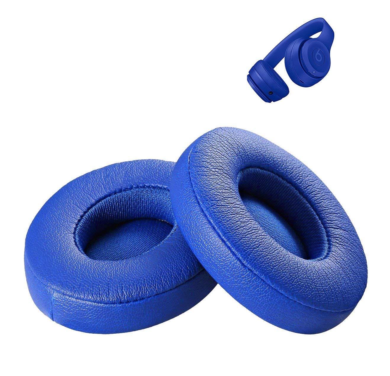 Solo3 Wireless Ear Pad Ear Pads Muffs Cushions Repair Part For Solo 3 Wireless On-Ear Headphone (Blue)