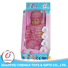 Wholesale New arrival safety plastic sucking baby doll
