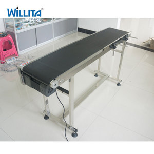 High speed Horizontal Rubber Flat Belt Conveyor with Factory Price