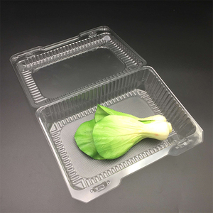Custom Clear PET Plastic Food Fruit Clamshell Blister Packaging Box