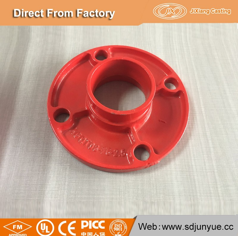 Export to UK market grooved pipe flange with cost price