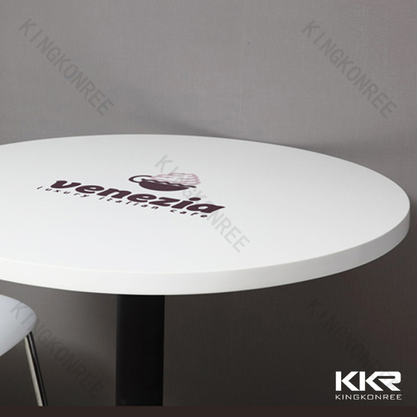 Marble top cafe table/restaurant dining tables and chairs