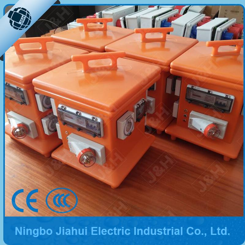 Customized European power supply output portable MCB distribution board