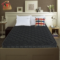 3D fabric twin size spring mattress with vacuum bed