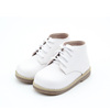 China Shoes Export White Genuine Leather Kids' Winter Boots