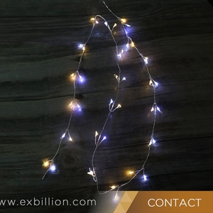 timeless design ba01f 8ef76 20 LED Icicle Lights Solar Powered Raindrop String Fairy Lights for Outdoor  Garden Patio Christmas Xmas Tree