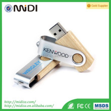 Christmas gift wooden usb 2.0 memory stick flash pen drive 8gb