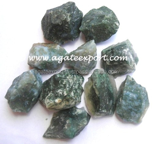 Moss Agate Rough Tumbled Stones-Wholesale Rough Tumbled Stones