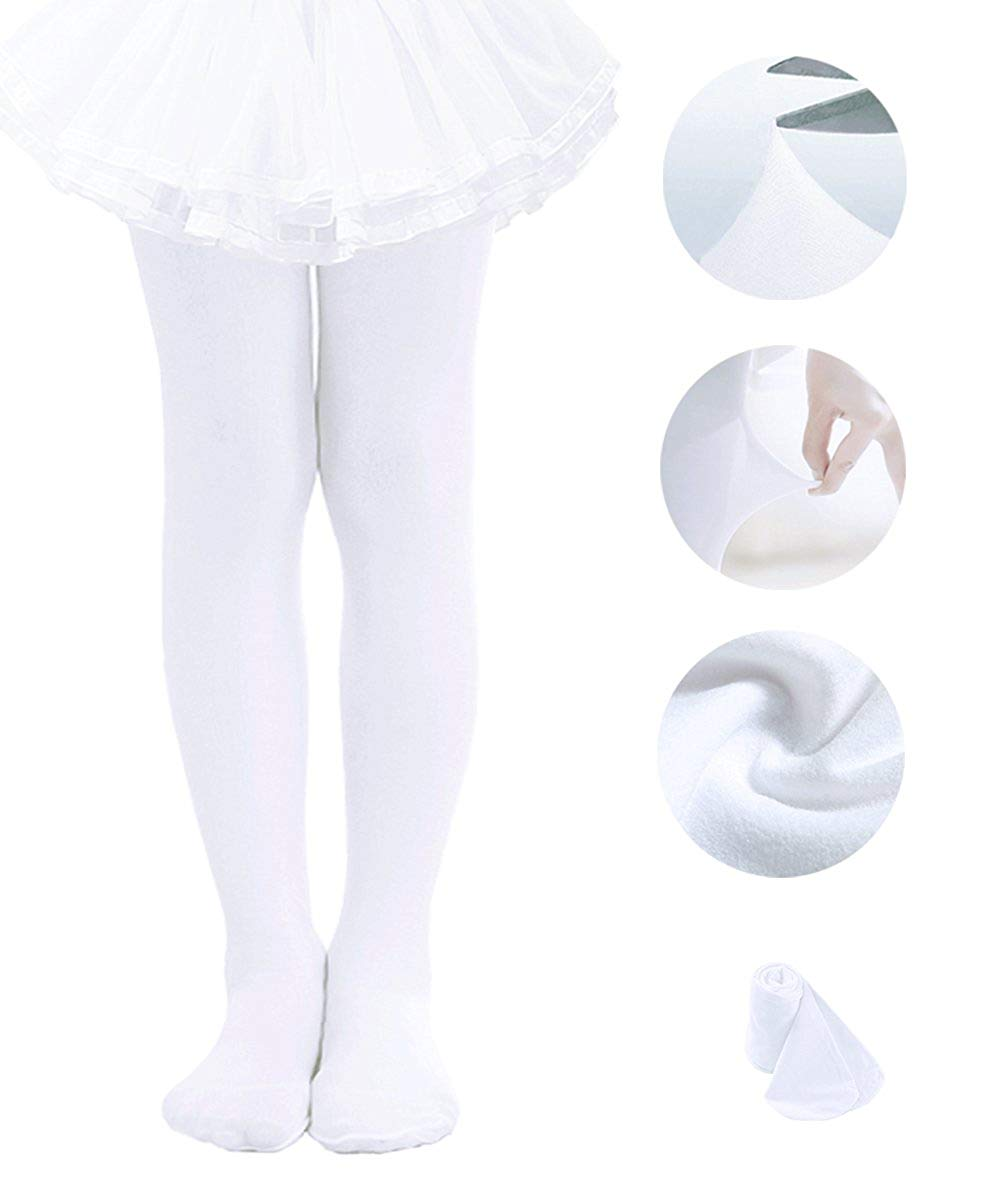 b30efd880 Get Quotations · Ballet Tights For Girls Toddler Tights Dance Leggings  Pants Footed Kids