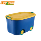 Customized various color high quality kids toy storage box