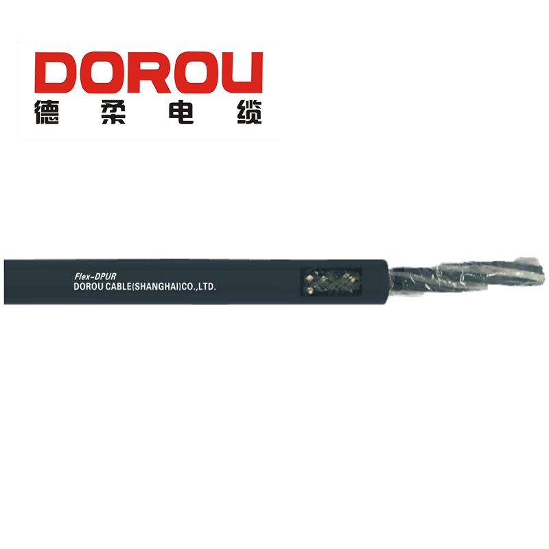 Wear resistant 0.3kV copper conductor data processing cable