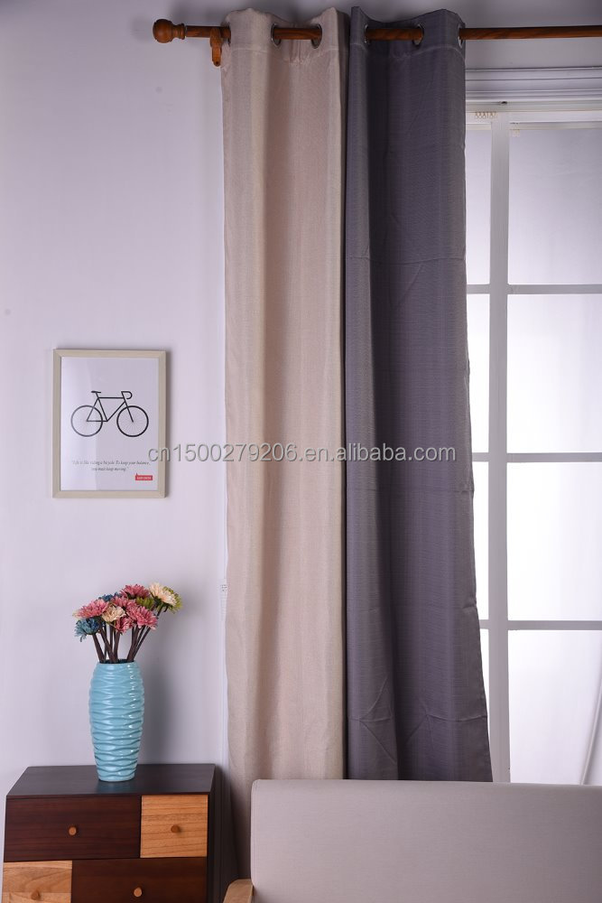 wholesale high quality 3 pass coated blackout curtain hotel/restaurant living room window curtains