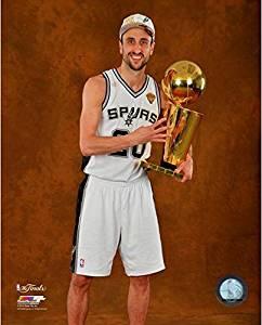 Size: 8 x 10 NBA San Antonio Spurs 2007 Champions Composite Photo