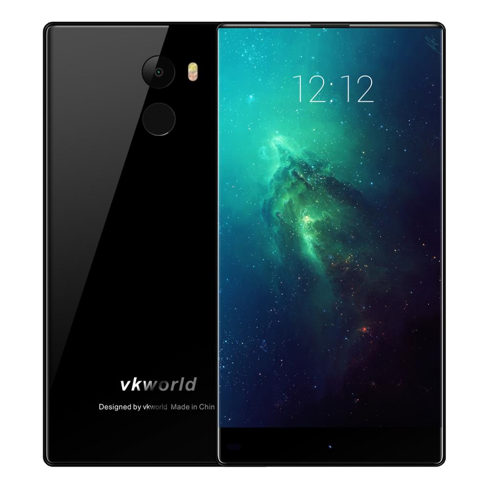 2017 Latest design android7.0 phone VKWORLD MIX PLUS 5.5inch 4G smartphone quad core 3G RAM+32G ROM dual 2.5D glass smartphone