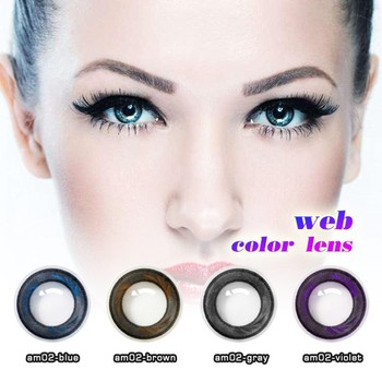 yearly contact lens sparkle contacts cosmetic party free color