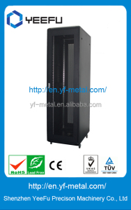 Aluminum material high density network cabinet