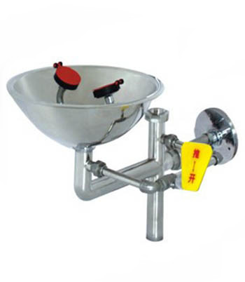 With 304 Stainless Steel And Stainless Steel / PP Bowl Wall Mounted Eye Washer