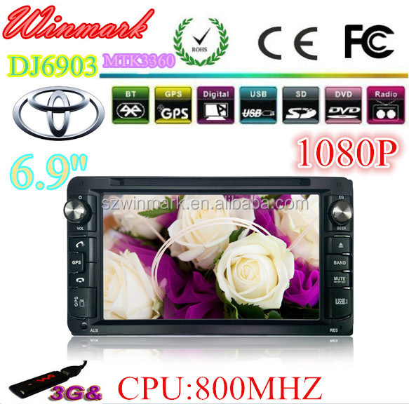 car Navigation/Audio/DVD player for <strong>Toyota</strong> <strong>COROLLA</strong> with four-core and CAN-BUS,USB,BT,GPS,Radio,3G,DTV, AUX,AV,VMCD,etc founction