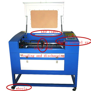 high performance high speed 4060 laser cutter for paper