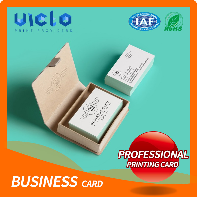 Fashion plastic mirror business cards manufacture