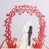 Meilun Art & Craft New design 3D wedding invitation pop up card