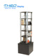 Mobile Rotating DVD Display Stand Spinner Rack