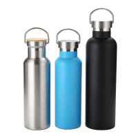 Thermos Vacuum Flask Portable Insulated Stainless Steel Sports Bottle