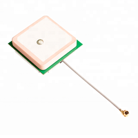 Active Internal 25*25 GPS Ceramic Patch Antenna with RG174 Cable
