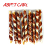 Pet care dog snack food Beef Tendon with Rawhide Sticks