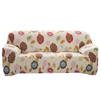 2019 Stylish Printed Polyester Spandex Fabric Loveseat Couch Slipcover Soft Elastic Sofa Cover for 2 Seats Love seat Sofa