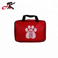 High Quality Red Pet First Aid Kit For Dog