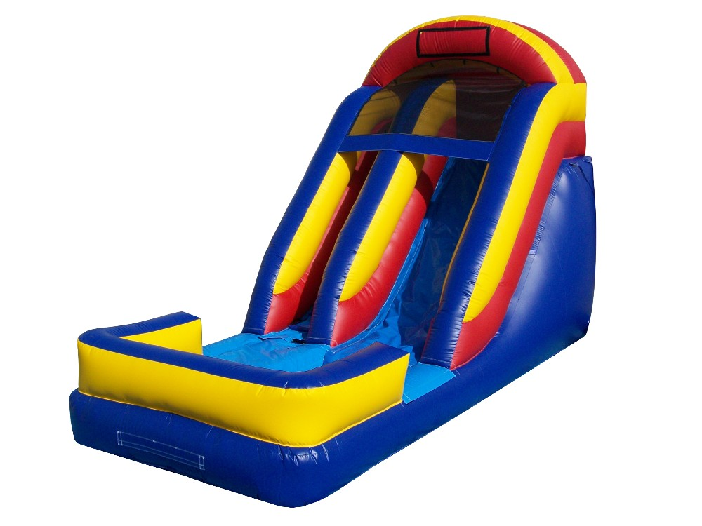 Inflatable Slides And Teampolines For The Water 66