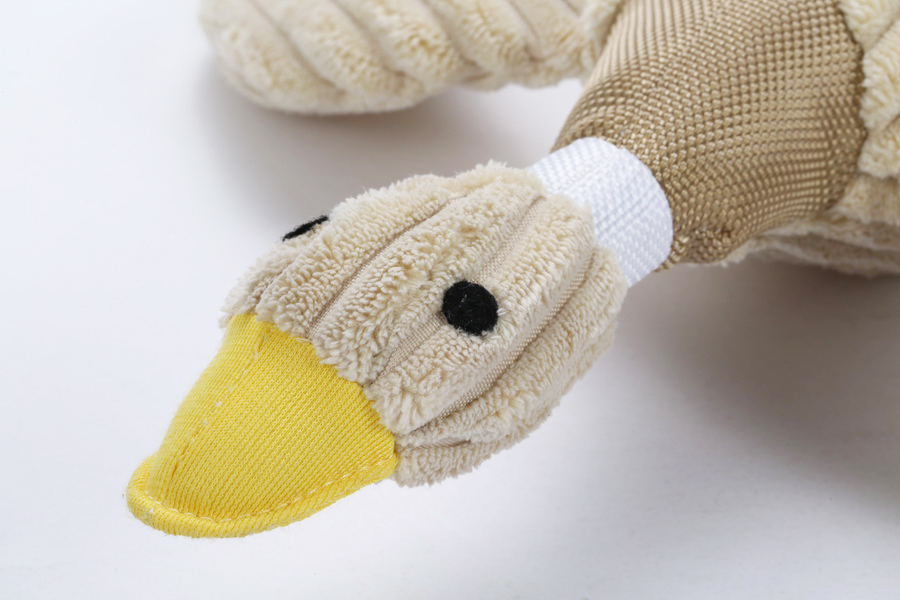 Duck pet products pet toy plush dog chew toy