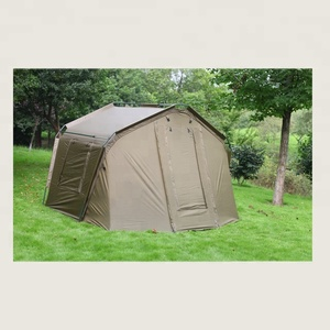 High quality huge capacity 2-3 men fishing bivvies tent
