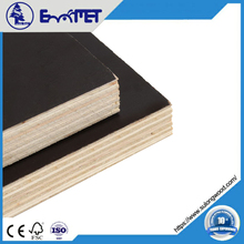 Black Film Faced Plywood Poplar Material WBP 12mm 9-Ply Boards Plywood Concrete Formwork Plywood