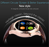 Gold Wrist watches android phone 4.0 cheap smart watch answer phone