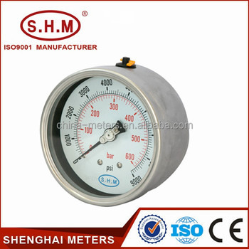 Different Types Of Pressure Gauges,Water Pressure Gauge,Bourdon Tube  Pressure Gauge - Buy Different Types Of Pressure Gauges,Water Pressure