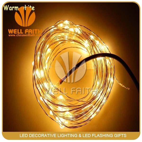 Mini Christmas Light Bulbs Decorative Light Chain