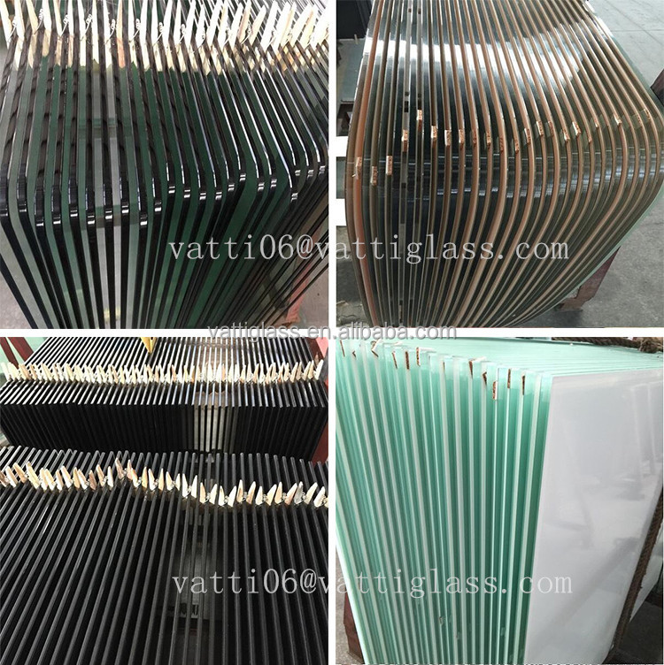Toughened building glass clear heat soaked tempered glass prices